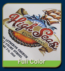 4 color process full color screen printing arizona