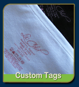 custom printed tags for shirts