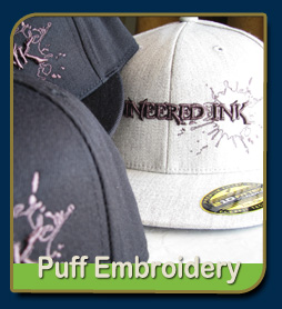 puff embroidery