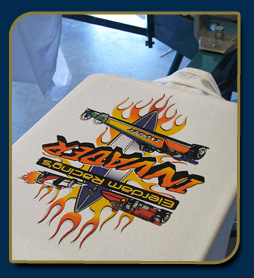 simulated process, half tone screen printing mesa az