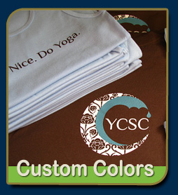 Silk Screen printed sample by Screened Gear Custom Screen Printing, Mesa Arizona