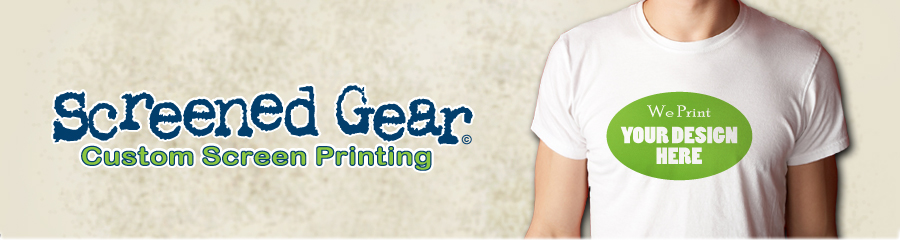 SCREENED GEAR | cheap t shirt printing, custom t shirt, logo ...